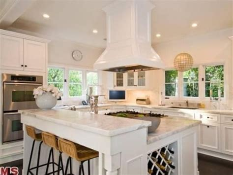 Katy Perry's Beautiful Kitchenis That A Disco Ball Over