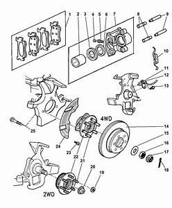 Wiring Diagram  34 2001 Dodge Dakota Parts Diagram