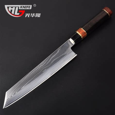 awesome kitchen knives japan vg10 67 layer damascus sashimi slicer damascus