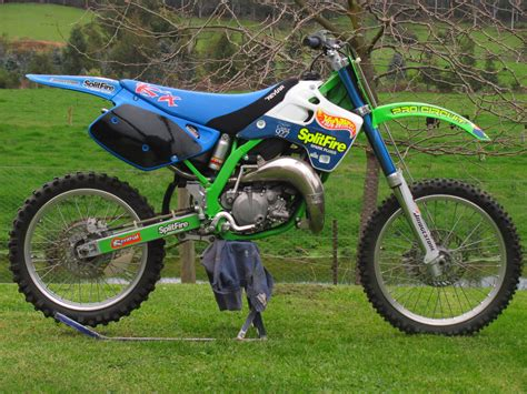 ebay motocross bikes for sale 1991 kx 125 resto retrospective old moto