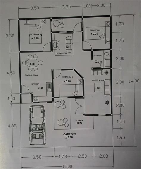 Functional small house plans   House design plans