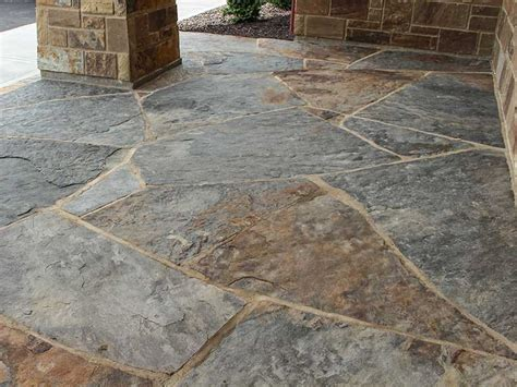 pictures of flagstone shawnee blue brown flagstone steppers earthworks natural stone
