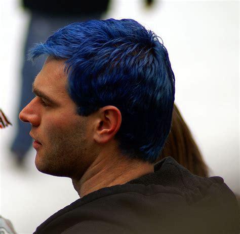 blue hair  photo  flickriver blue hair top