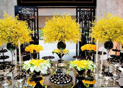 Yellow Wedding Color Combination Ideas
