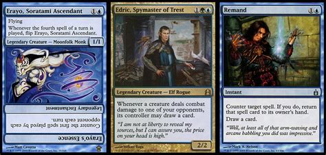 Most Competitive Edh Decks by Competitive Tempo Edric 1 Vs 1 Traditional Commander