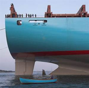 Maersk Emma - Currently...uh...second largest Container ...