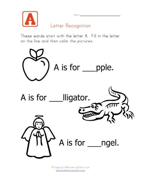 phonics teachernick 741 | Worksheet Letter A