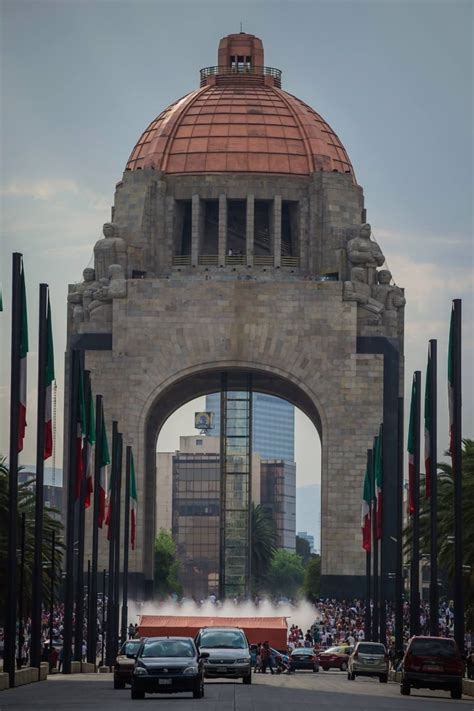monument   revolution mexico city mexico
