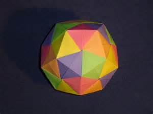 Dodecahedron Origami Ball Instructions