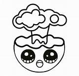 Emoji Coloring Explosion Funny Emojis Colorealo Colorear sketch template