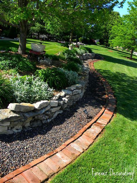 Gartenumrandung Aus Stein by Forever Decorating Brick Border