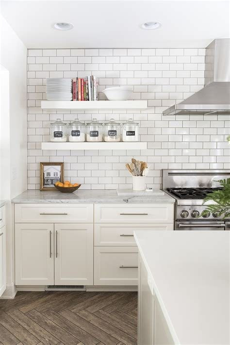 incorporate floating shelves   kitchen room