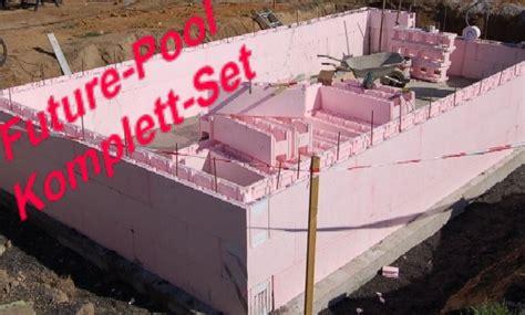 pool bausatz styropor styropor rechteckschwimmbecken bausatz future pool eps systembecken power s