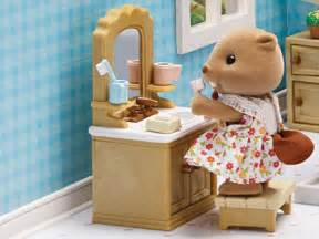 deluxe bathroom set calico critters