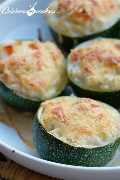 comment cuisiner des courgettes rondes courgettes rondes farcies au saumon fumé et au fromage