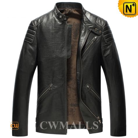 fashion cowhide leather jackets cw850403