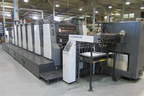 offset machines   color  offset press machine