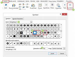 Create A Dot Chart In Excel