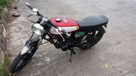 custom modified honda 100cc motorcycle in bangladesh