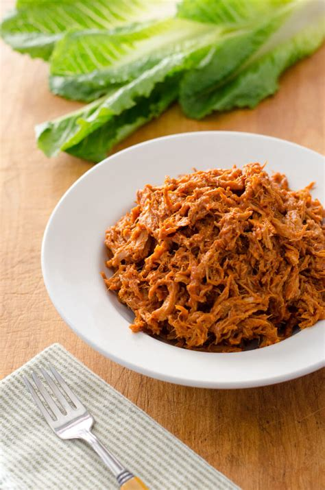 easy crock pot pulled pork cook eat paleo
