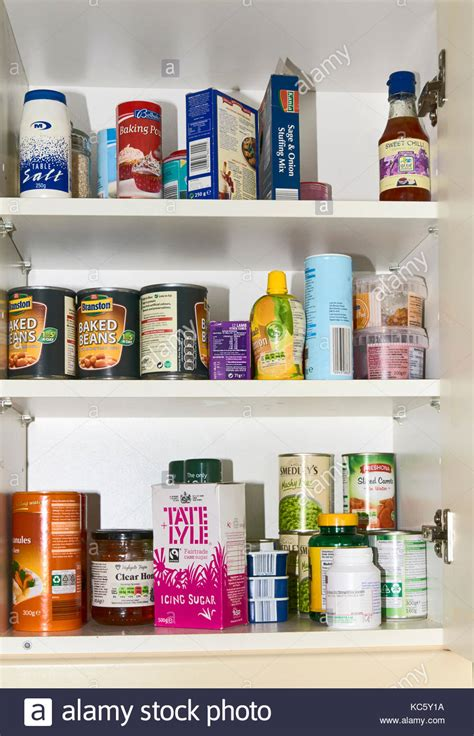 Cupboard Food by Tins Cupboard Stock Photos Tins Cupboard Stock Images