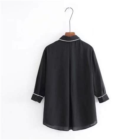 Wk100556 Baju Import baju import wanita korea terbaru blus import bigsize