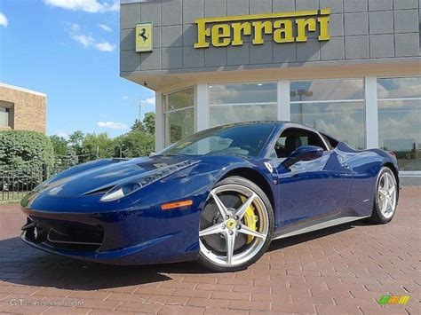 2013 ferrari california 30, tour de france blue, special handling pkg! 2010 Blue Scozia (Dark Blue) Ferrari 458 Italia #69656918 ...