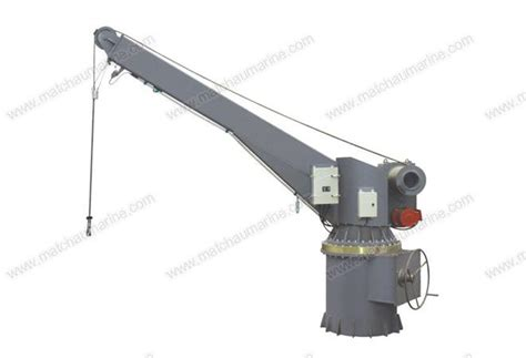 Boat Davit Manufacturers by Electrical Hydraulic Slewing Crane Boat Raft Davit