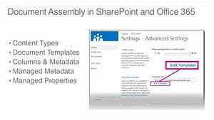 dynamic document generation for sharepoint office 365 With sharepoint document automation