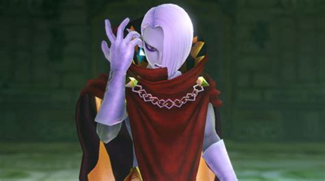 ghirahim shows tongue action hyrule