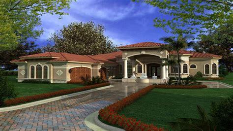 mediterranean homes plans one story mediterranean house plans mediterranean houses