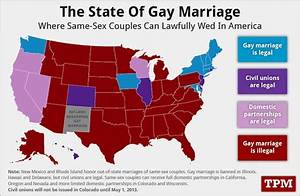 States that recognized gay marriage