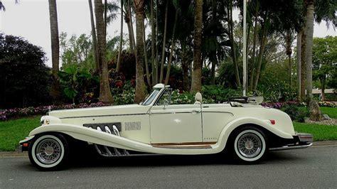 classic  clenet series ii convertible mercedes replica