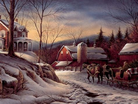 country christmas winter nature background wallpapers