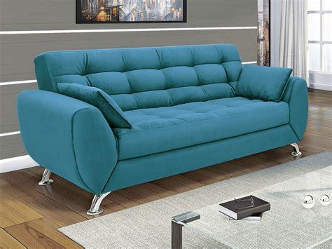 sofá 3 lugares linoforte larissa em tecido suede marrom sof 225 3 lugares suede larissa linoforte sof 225 s magazine