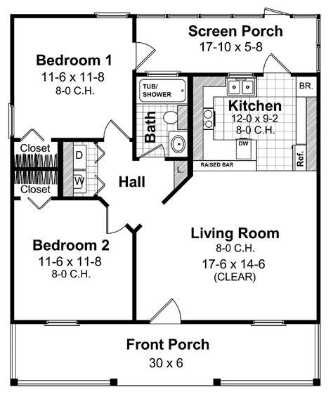2 bedroom apartments 800 2 bedroom 2 bath cottage plans source more home