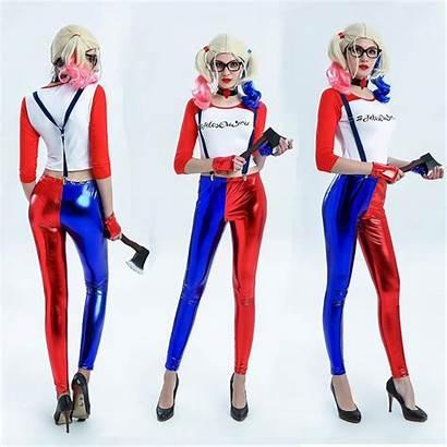 Quinn Harley Joker Squad Suicide Costume Harlequin
