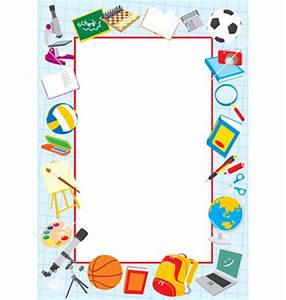 School Borders And Frames Clipart Panda - Free Clipart