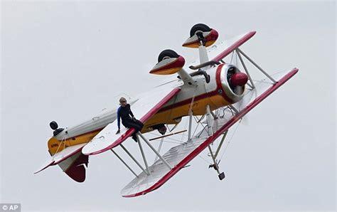 Wing Walker Jane Wicker Dies in Fiery Crash at Dayton Air ...
