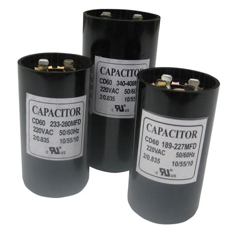 Electric Motor Capacitor by Uf Mfd Microfarad New 220 275v Electric Motor Start