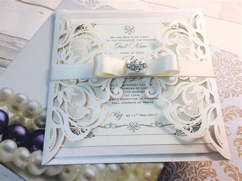 Luxury Stylish Boxed Wedding Invitations Uk
