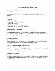 Free Customer Service Training Manual Template