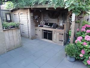 45, Perfect, Backyard, Bbq, Landscaping, Ideas, 53, Weber, Genesis, Buiten, Keuken, Outdoor, Garden, Kitchen