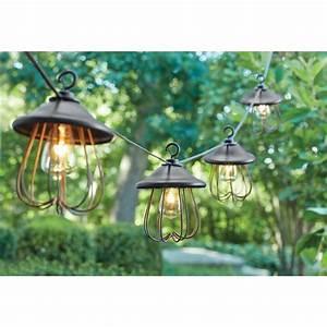 Hampton, Bay, 8-light, Decorative, Bronzed, Patio, Cafe, String, Light-kf98060