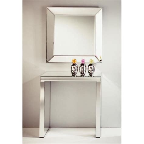 Keops Table Console En Verre Miroir Petit Modèle Achat