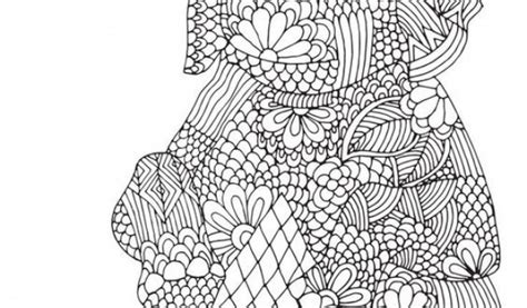 challenging coloring pages get this challenging coloring pages of elephant for adults