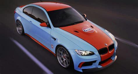 gulf racing colors bmw super bild gulf themed m3