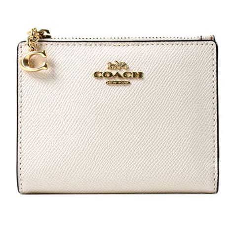 Effortlessly stylish, coach cases are designed to add a functional yet stylish touch to your accessories collection. Coach - NWT COACH Small Snap Card Case Wallet Pouch Classic Leather Gold Chalk F73867 - Walmart ...