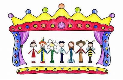 Theater Clipart Spielen Kindertheater Programma Hier