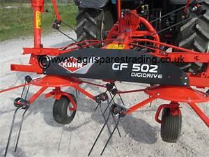 Kuhn Gf502 Tedder